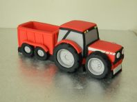 Large Tractor & Trailer Cake Topper